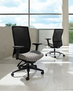 Global Loover Executive chair.  Visit http://www.todayssystems.com/seating.html for more information and options.