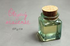 Olejové maceráty - DIFY - do it for yourself! - Udělej to pro sebe! Natural Make Up, Natural Beauty, Perfume Bottles, Skin Care, Cosmetics, Homemade, Blog, Diy, Soaps