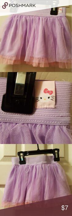 Girls skort Pink and purple hello kitty skort Hello Kitty Bottoms Skorts