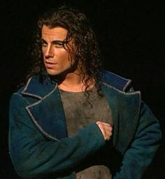 Bruno Pelletier (Preferable in lots of stage-makeup)
