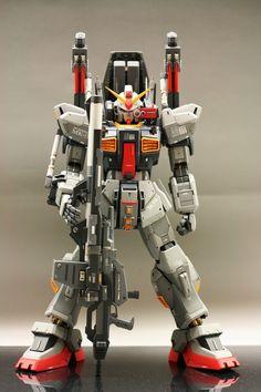 PG RX-178 GUNDAM MK-II AEUG Custom: Work by minamp. PHOTO REVIEW http://www.gunjap.net/site/?p=248781