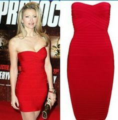 Aliexpress.com : Buy 2013 New Fashion  Women Evening Dress Sexy Strapless Trending women dresses bandage dress sexy  H041R from Reliable dre...