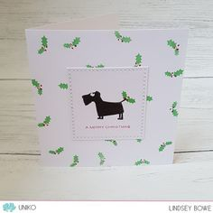 Uniko Studio stamps. Vine Additions. Cats on Appletrees. CAS cards. Christmas cards.