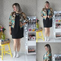 UhuL, último look do desafio #1peça5looks!  Casaquinho muda tudo, né? Vocês gostaram do desafio?  #5looks #mood #friday #bgbfblogger #allstar #flare#bsbfashionig#dress #modait#ootd #dujour #lookdodia #lookoftheday #brasilia #outfit #ootn #shoes #blogger #blog #FashionBlogger #fashionstyle #style #moda #streetstyle #look #dodia #365looksx2