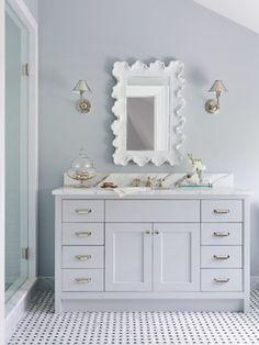 Shingle Style salle-de-bain