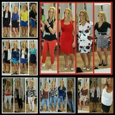 Dress instantly now since I made an outfit collage to hang in my closet. I got tired of putting away the 10 things I didn't wear but tried on. #timesaver #feelbeautiful