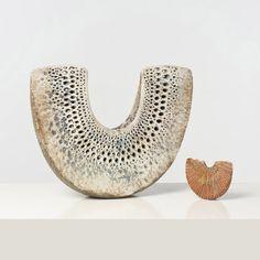 Alan Wallwork; Glazed Ceramic Sculptures, c1980.