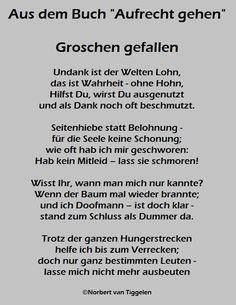 """Buchtitel """"Aufrecht gehen"""" Autor: Norbert van Tiggelen"""