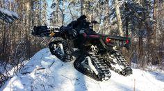 Can am Alpine Flex Plow W/Apache 360 Tracks