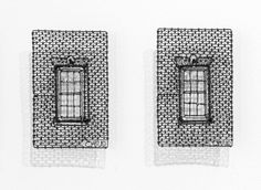 Window potraits in wire by C. W. Roelle