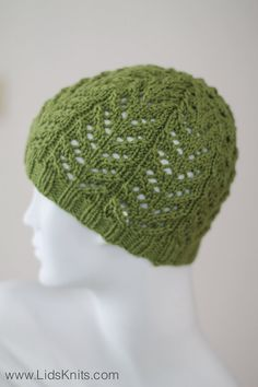 Bright Green Cashmere Merino Hand Knit Beanie Hat by lidsknits, $40.00