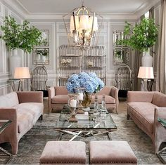 Extravagant designs make for a great sitting room! | Deloufleur Decor & Designs | (618) 985-3355 | www.deloufleur.com
