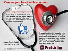 Care for your #heart while you #sleep