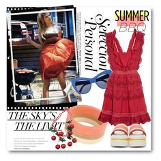 """""""#Summer BBQ"""" by nikkisg ❤ liked on Polyvore featuring interior, interiors, interior design, home, home decor, interior decorating, Chanel, STELLA McCARTNEY, Marni and self-portrait"""