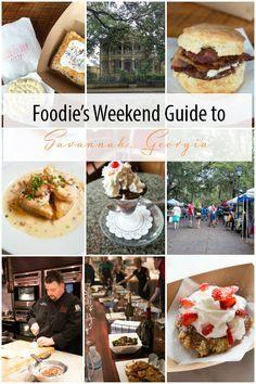 Foodie's Weekend Guide to Savannah, Georgia