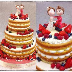 """""""Mi piace"""": 284, commenti: 12 - Le Torte di Giada Brescia (@letortedigiada) su Instagram: """"La wedding Cake che chiude il lavoro di squadra de Le Torte di Giada per questo fine settimana 🎂🎂🎂…"""""""