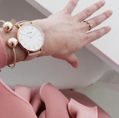 Double Ballin Bangle and Ring in Rose Gold