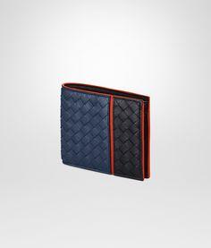 Bottega Veneta® - パシフィック トルマリン ベスビオ イントレチャート ナッパ ウォレット