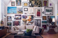 Gallery Art Wall Ideas for Modern Rooms – 212 Concept - Modern Living