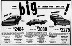 Newspaper Archives, American History, Ford, Ads, Us History
