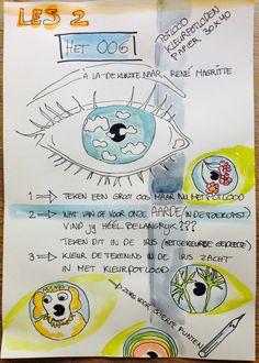 Boekje tekenlessen, Esther Eggink