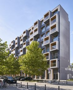 Osiedle mieszkaniowe 19 Dzielnica. Materiał elewacyjny z włóknocementu EQUITONE [tectiva].