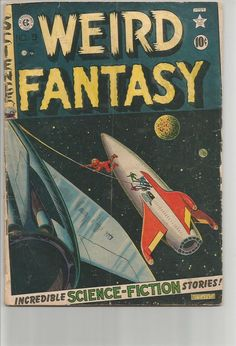 WEIRD FANTASY #9 EC COMICS 1st print & series WALLACE WOOD 1951 ORLANDO, DAVIS