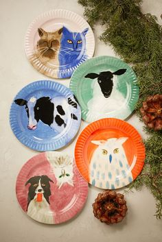 The Anthropologie EU Holly Frean Farm Animal Dessert Plate is one of the prizes in our '12 Days of Gifting' giveaway in partnership with Emerald Street between 30 November – 15 December. Head over to www.emeraldstreet.com/christmas-with-anthropologie to find out how to be in with a chance of winning!