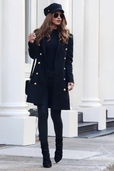 The Crossover Coat Crossover Coat - Zara (Here)Baker Boy Hat - Asos (Here)Ribbed Turtle Neck -Boohoo (Here)Coated Jeans - Asos (Here)Hoop Bag - Forever 21 / Similar (Here)Rope Boots - Missguided (Here) Fashion Look by Nada Adelle