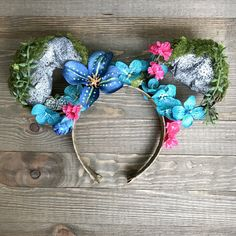 A personal favorite from my Etsy shop https://www.etsy.com/listing/537391759/pandora-avatar-themed-ears-disney-minnie
