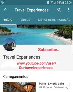 www.youtube.com/user/Ourtravelexperiences