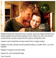 One Tree Hill - Leyton - Lucas Scott (Chad Michael Murray) & Peyton Sawyer (Hilarie Burton)