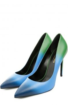 Кожаные туфли Paris Skinny с эффектом деграде