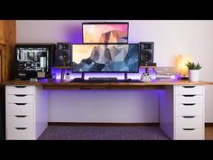 (6) AMAZING Dual Monitor Setup - Setup Spotlight - YouTube