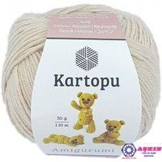 Kartopu Bambu Sakura Yarn, Cream - K025 | Sakura, Bambu, Krem | 236x236