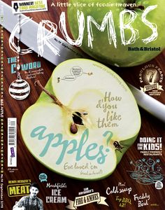 Thank god it's Friday. #CrumbsFriday that is. New #Bath #Bristol issue's out today folks. Take a bite.