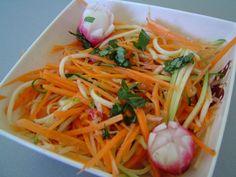 Salade de légumes croquants