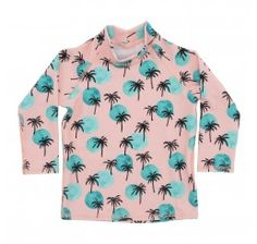 Soft Gallery Baby Astin Swim Shirt Impatient ink All-overprint Tropical