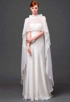 Vestido de noiva Princesa Leia Star Wars, desfile