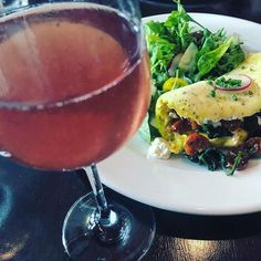 Best way to start the day! in St. Augustine for mimosas and omelette! Mimosas, Start The Day, Sunday Brunch, Omelette, Preserves, Cheers, Gypsy, Alcoholic Drinks, Restaurant