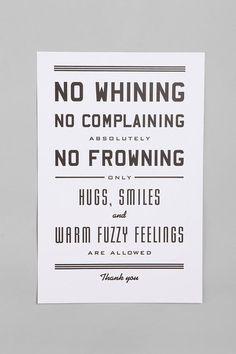 Hugs, smiles and warm fuzzies!