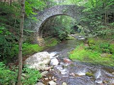 Stone bridge at Buck Hill Falls, Ron Dickey Photographer The Places Youll Go, Places Ive Been, Places To Visit, Pocono Mountains, Motorcycle Travel, Love Photography, Garden Bridge, Us Travel, Day Trips