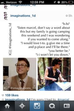 I love how this fandom ships Marcel (Harry) and Harry together. Harry and Harry shipped together. Harry Styles Memes, Harry Styles Cute, Harry Styles Photos, Marcel Imagines, Harry Styles Imagines, One Direction Images, One Direction Humor, Direction Quotes, Marcel Harry