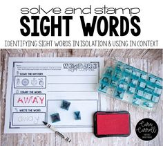 Today we're talking all about sight words. Specifically, my top 5 effective tips for making sight words STICK! So often we as teachers focus on assessing our student's sight word automaticity in i Teaching Sight Words, Teaching Grammar, Vocabulary Parade, 1st Grade Centers, First Grade Parade, Sight Word Centers, Primary Classroom, Classroom Ideas, School Fun