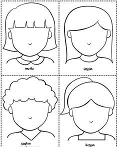 Preschool Activity World :): My Emotions, English Activities For Kids, Preschool Learning Activities, Toddler Activities, Preschool Activities, Teaching Kids, Preschool Classroom, Summer Activities, Family Activities, Emotions Preschool