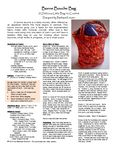 Ravelry: Bonne Bouche Bag pattern by Barbara Kreuter