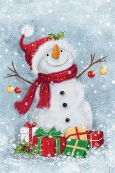 Merry Christmas Card, Christmas Scenes, Noel Christmas, Vintage Christmas Cards, Christmas Greetings, Christmas Crafts, Christmas Decorations, Christmas Ornaments, Merry Christmas Drawing