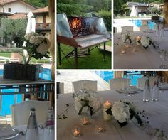Relaxed #dining with a view to the swimming pool #cadelach revinelago #treviso #veneto