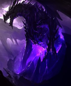 The Black Dragon Of The Apocalypse : Great red and ophis the 2 strongest dragons in the world the 3 factio… Shadow Dragon, Dark Fantasy Art, Fantasy Creatures, Mythical Creatures, Lightning Drawing, Minecraft Ender Dragon, Legendary Dragons, Dragon Artwork, Dragon Pictures