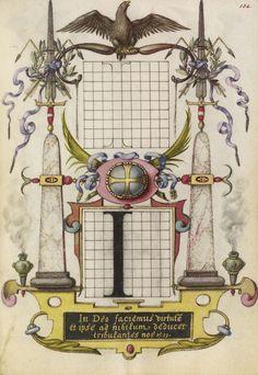 Joris Hoefnagel (illuminator)  [Flemish / Hungarian, 1542 - 1600],                              Guide for Constructing the Letter I,                              Flemish and Hungarian, about 1591 - 1596